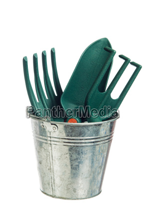 garden tools it is isolated on