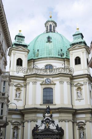 st peterss church in vienna