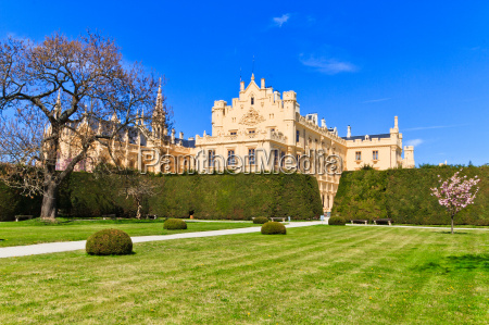 lednice palace and gardens unesco world