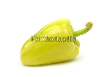 green pepper isolated