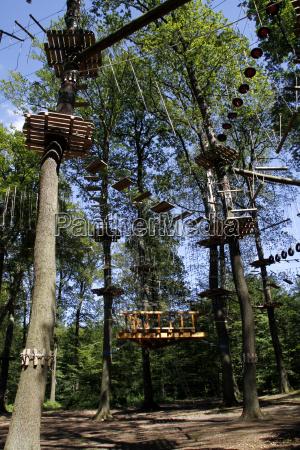 climbing forest on the kluet hameln