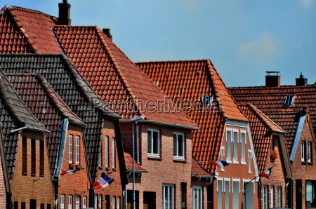 houses roofs northern germany