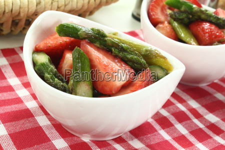 berries asparagus delicacy league german strawberries