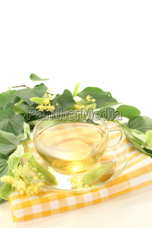 delicious linden flower tea