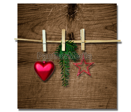 christmas wood card