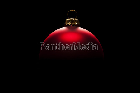 exciting red bauble