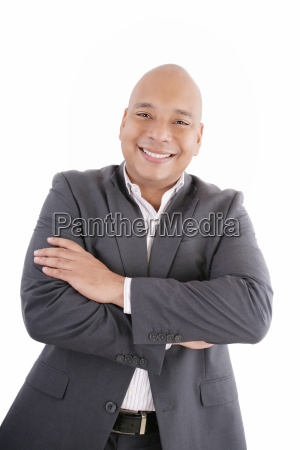 portrait of a business man isolated