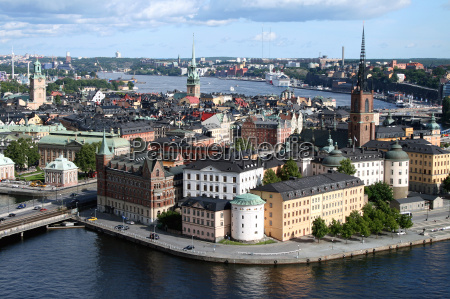 view of stockholms city centre
