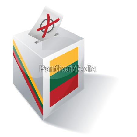 election box lithuania