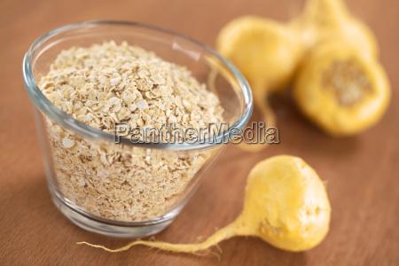 oatmeal with maca