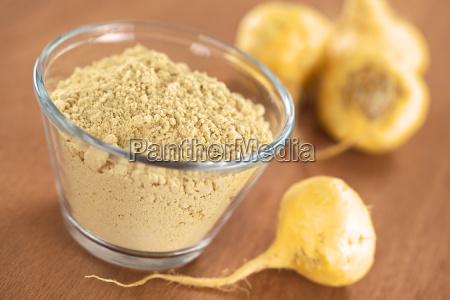 maca root and maca powder flour