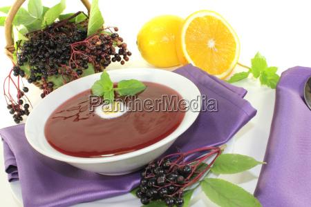 delicious elderberry soup