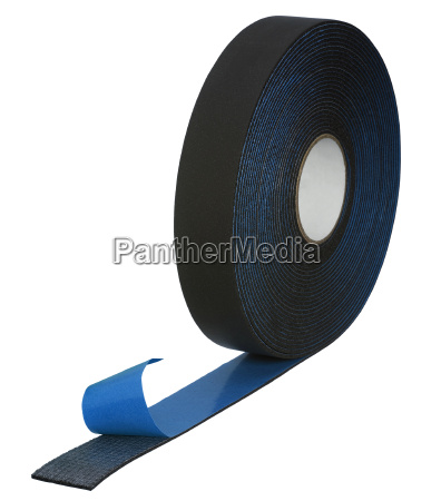 adhesive rubber tape roll