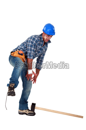 an injured tradesman