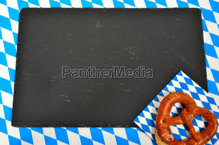 bavarian pattern blue white background oktoberfest