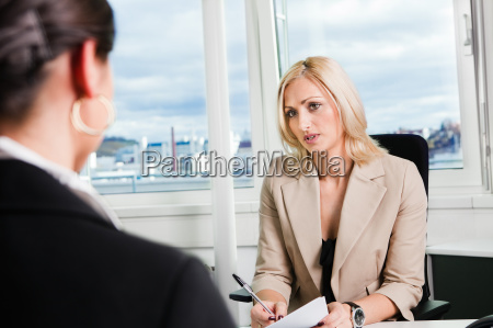business interview