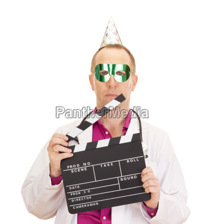 a male medical doctor with a