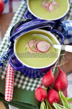 peas pea soup soup