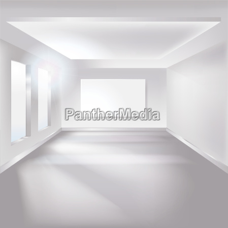 room with canvas or poster