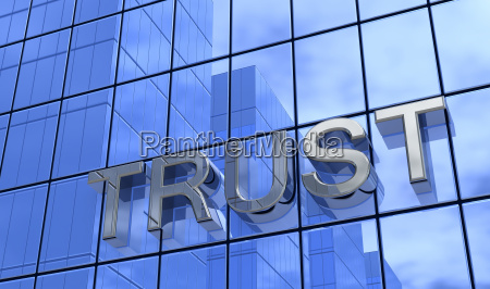 trust the bank silver blue