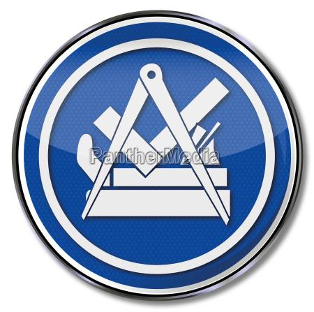 zunftzeichen carpenter