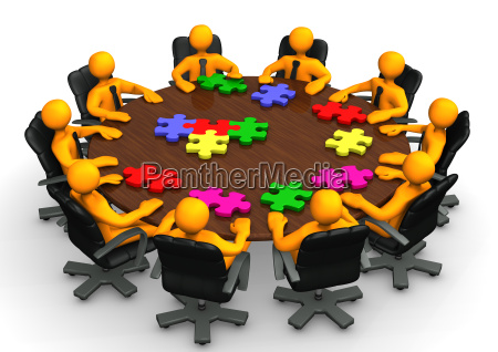 conference table teamwork