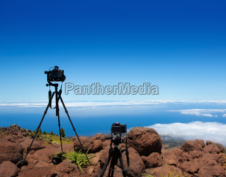 landscape photographer tripods and camera