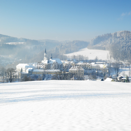 monastery vyssi brod czech republic
