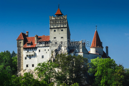 fortress of dracula bran castle in