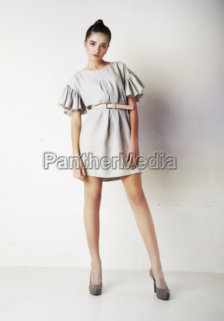 pretty, female, posing, in, studio - 7935393