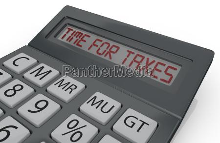 concept of taxes
