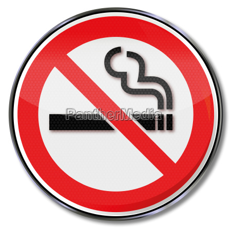 prohibition sign smoking ban