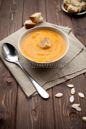 vellutata di zucca pumpkin soup