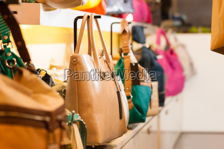 bags in a retail store