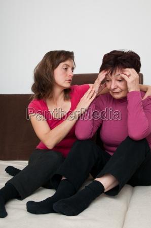 depression daughter regrets senior mother