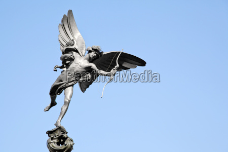eros statue piccadilly london