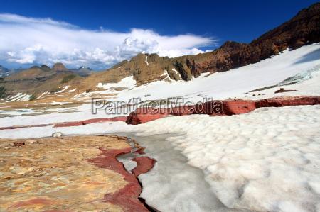 sperry glacier in montana