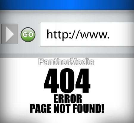 404 error page not found browser