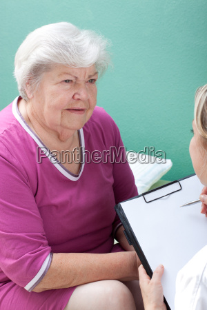 senior citizen and nurse data are