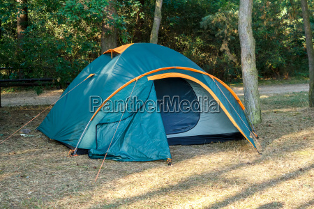 camping tents at campground during daytime