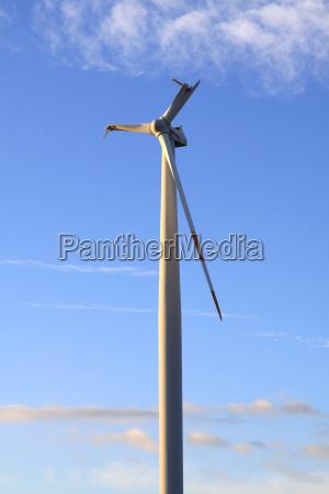 broken wings of a windmill
