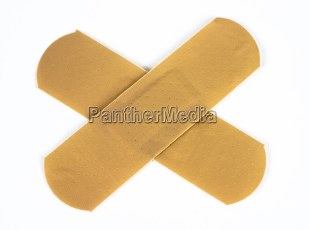 plasters isolated