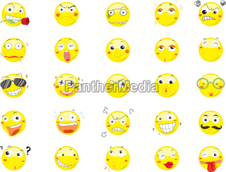 smile face icons