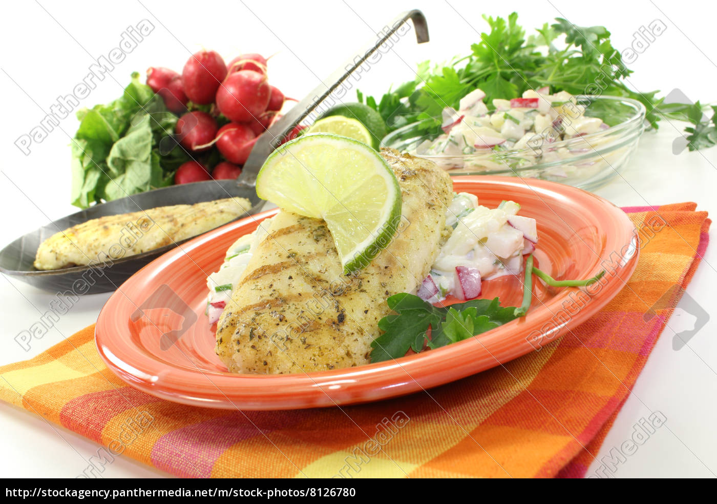hake, with, parsley - 8126780