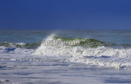 waves of the north sea