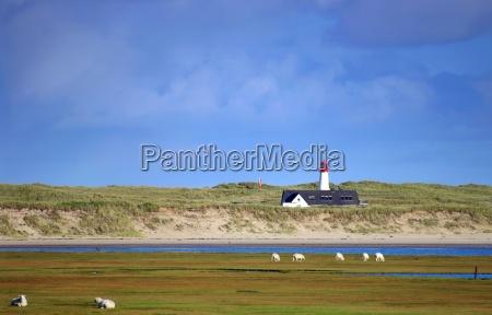 lighthouse on sylt
