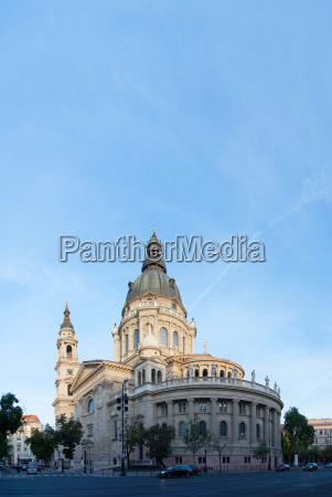 st stefans basilica in budapest hungary