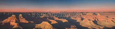 sunset at hopi point grand canyon