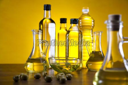 fresh olives olive oil