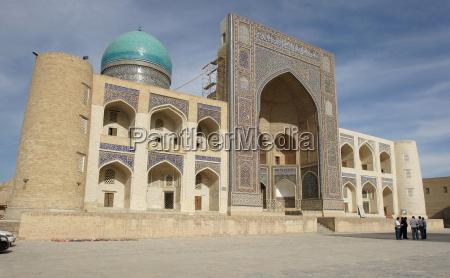 madrasah miri arab bukhara uzbekistan